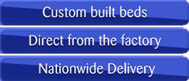 Custom Bulit Beds, Near Silent Motors & Nationwide Delivery
